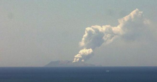 Свят Изригна вулкан в Нова Зеландия, има ранени Поне един