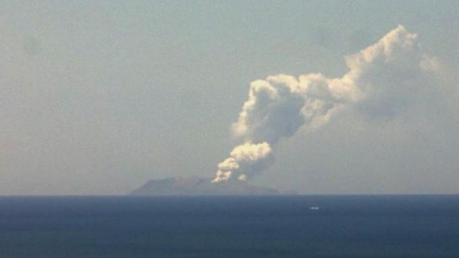 Изригването на Белия остров