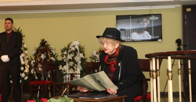 България Колеги, приятели и почитатели се сбогуват със Стоянка Мутафова