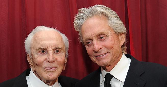 Днес на 103 години става актьорът и продуцент Кърк Дъглас,