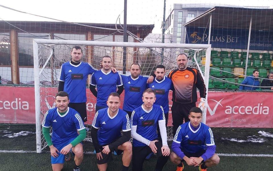 Фенове на Левски спечелиха неделната лига на БАМФ