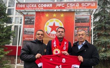 Бившето пресаташе на клуба Иван Ченчев дари 15 000 лева на школата