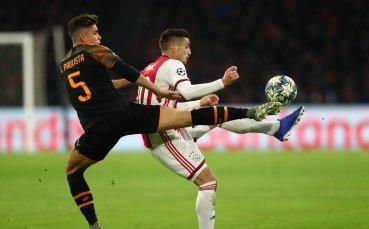 Валенсия нанесе тежък удар по амбициите на Аякс и ги изхвърли от Шампионската лига
