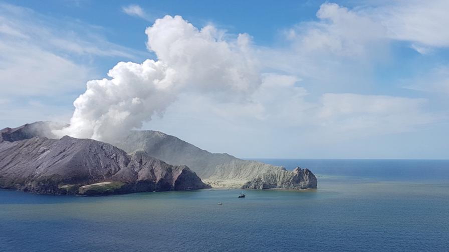 Нова Зеландия поръчва човешка кожа за пострадалите от изригналия вулкан
