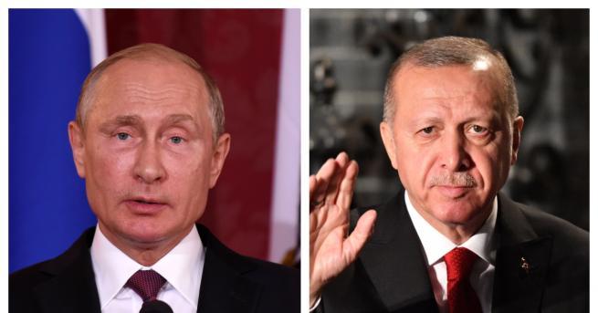 Свят За какво говориха Путин и Ердоган по телефона Те