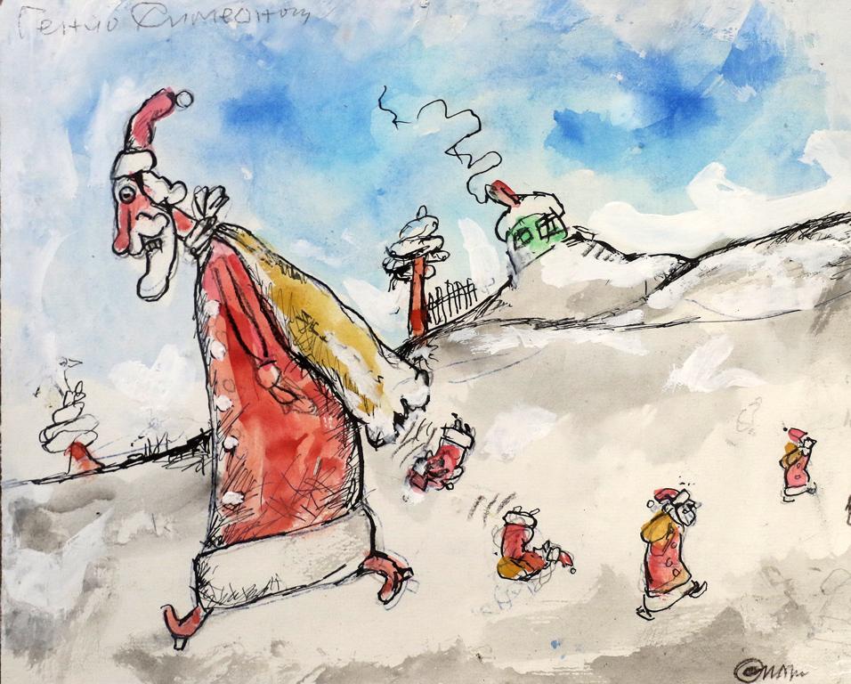 <p>Генчо Симеонов Карикатура I</p>