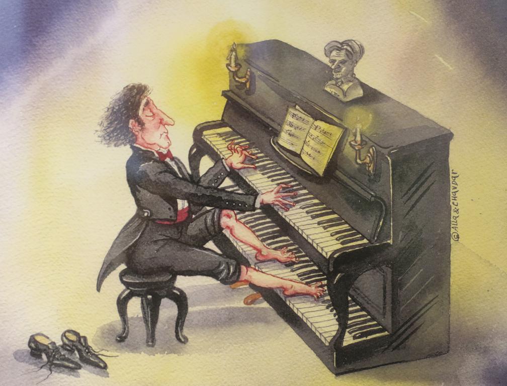 <p>Алла и Чавдар Георгиеви Пианист</p>
