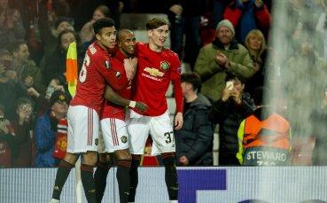 Манчестър Юнайтед с изумително постижение на мача с Евертън