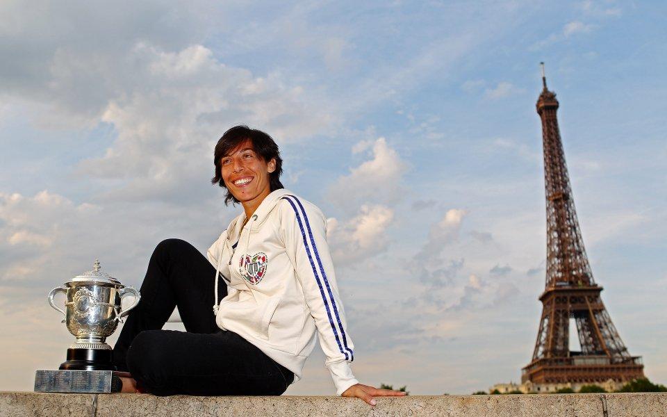 Бивша шампионка от Откритото първенство на Франция по тенис Франческа