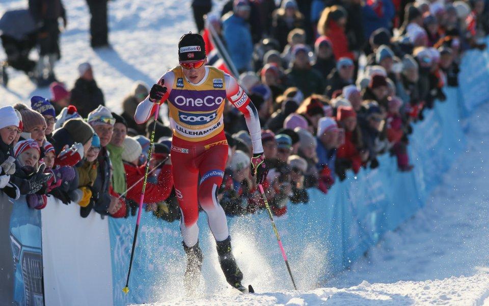 Норвежецът Йоханес Клаебо и шведката Лин Сван спечелиха спринтовете при
