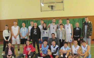 Завърши ученическият турнир по баскетбол за Купата на ХТМУ