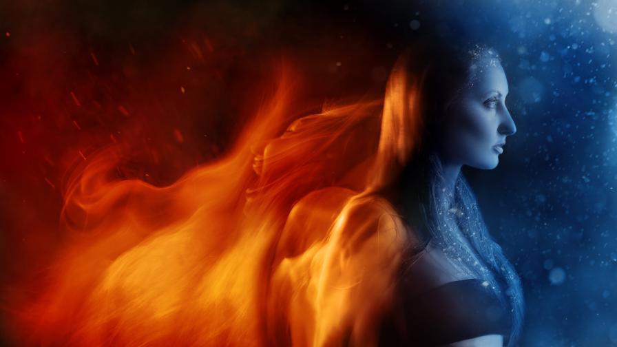 Огненият асцендент и неговите супер сили