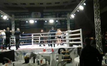 Напрежение между фенове на Левски и ЦСКА след края на Илиев - Топалски