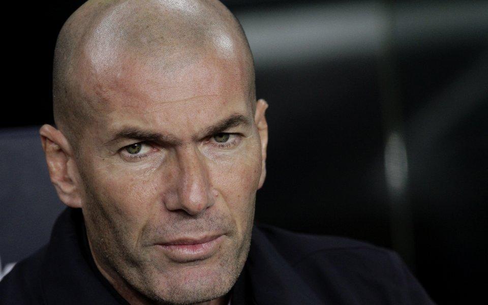 Старши треньорът на Реал Мадрид Зинедин Зидан похвали сериозно колегата