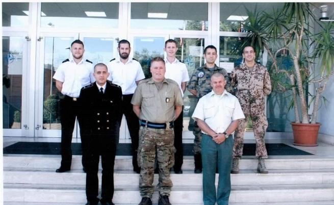 Явор Ненков в Училище по комуникации на НАТО