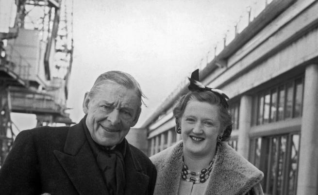 Т. С. Елиът и втората му съпруга Валери
