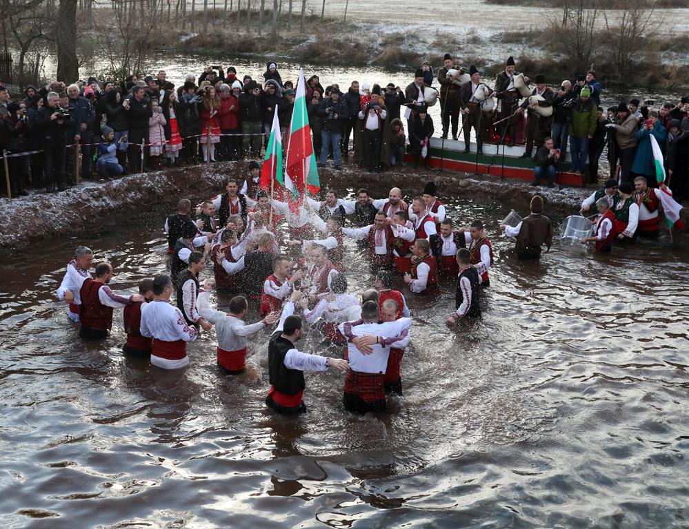<p>Богоявление - спасяване на кръста в село Зверино</p>