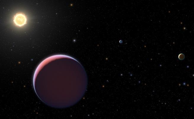 Сняг вали на още 4 планети, вижте кои са те