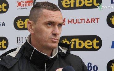 Юруков: Работя с едни от най-добрите футболисти в България