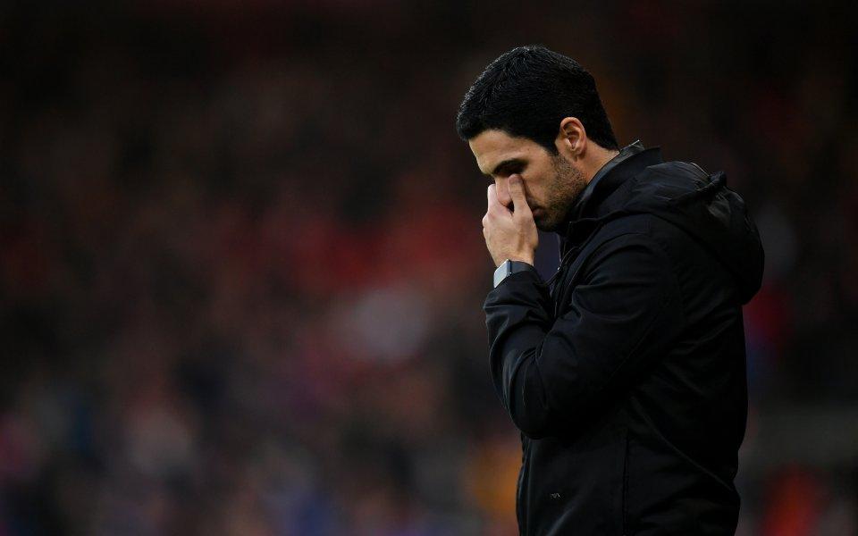 Шефовете на Арсенал може да оставят разочарован Микел Артета, след