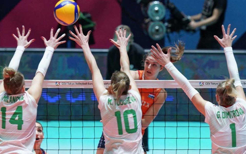 България отстъпи с 0:3 (19:25, 19:25, 24:26) на Нидерландия във