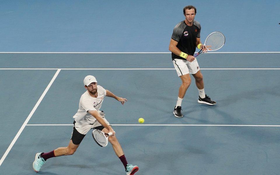 Русия е вторият полуфиналист на ATP Cup