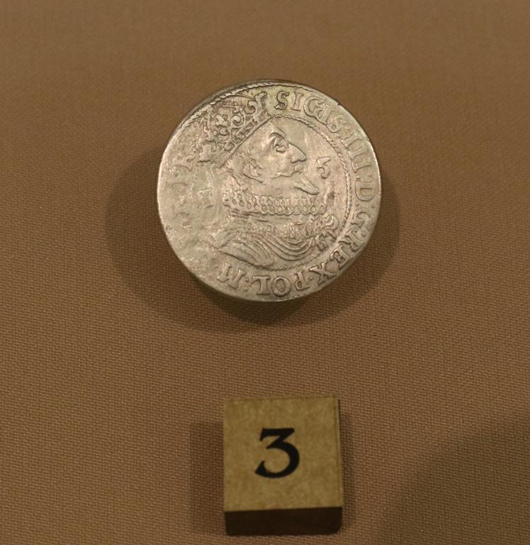 <p>Сребърна монета от крал Сегизмунт III Ваза (1587-1632 г.)</p>