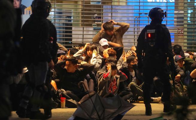 Протестите в Хонконг водят до посттравматичен стрес
