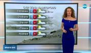 Прогноза за времето (10.01.2020 - централна емисия)