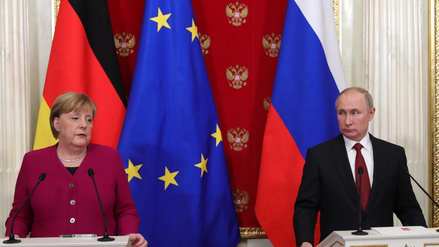 """Путин: Русия може да построи """"Северен поток 2"""" и сама"""