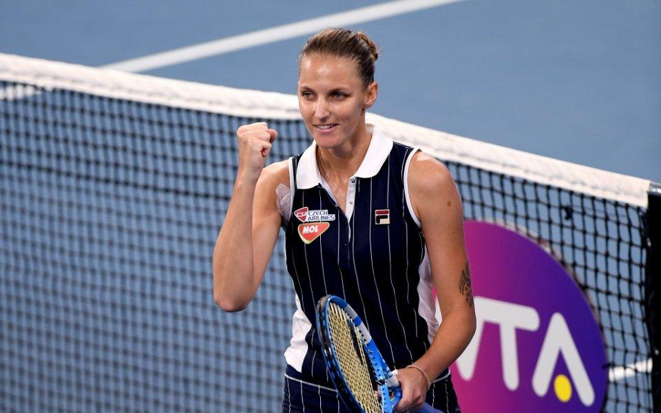 Каролина Плишкова защити титлата си в Бризбейн