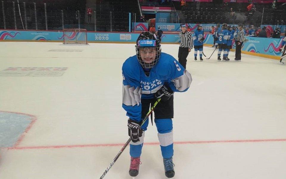 Мария Руневска и хокейнят ѝ тим са лидери в Лозана