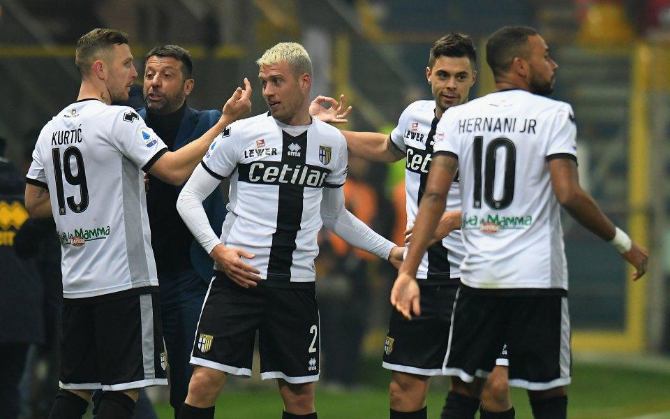 """Двама играчи от отбора от Серия А """"Парма"""" са дали"""
