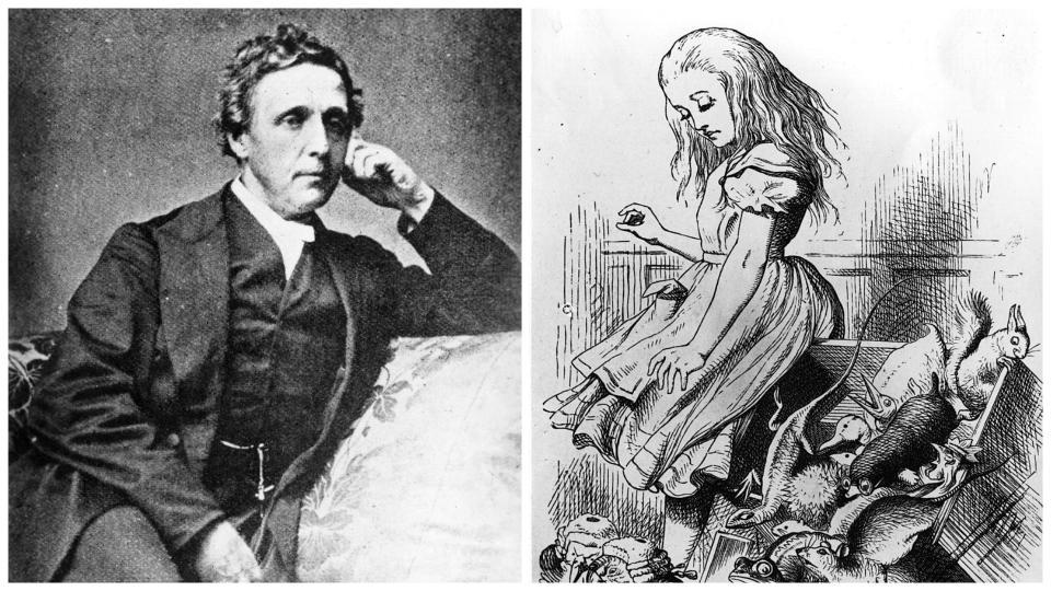 Луис Карол Алиса в страната на чудесата