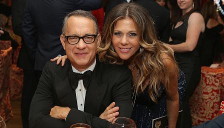 След карантината: Добри новини за Том Ханкс и съпругата му