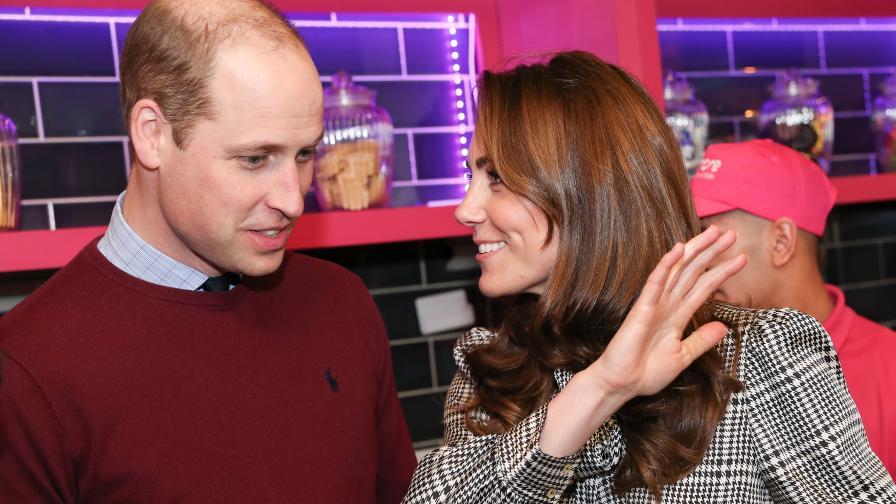 Кейт и Уилям с първа официална изява след...