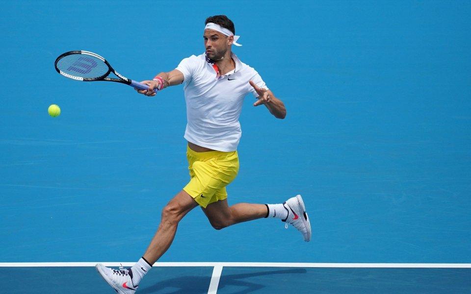 Дойде реда за първия мач на най-добрия български тенисист -