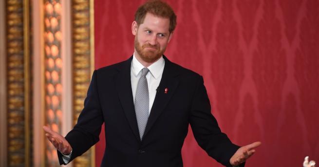 Любопитно Принц Хари също се появи за първи път след