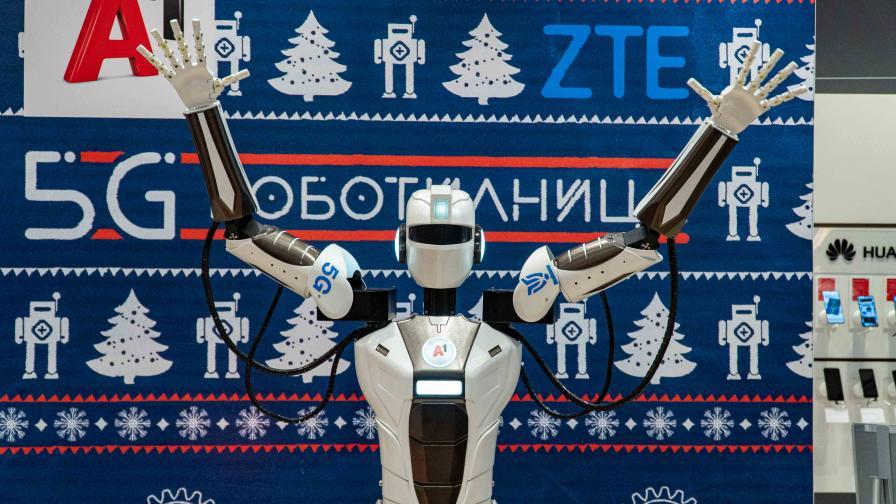 А1 демонстрира роботизация през първата в страната 5G самостоятелна мрежа