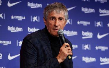 Кике Сетиен: Да водя Барселона е подарък за мен