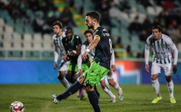 Треньорът на Спортинг: Бруно Фернандеш заслужава да играе във Висшата лига