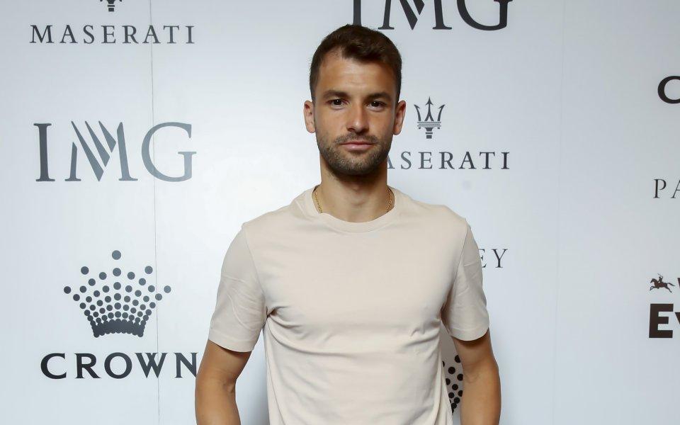Най-добрият ни тенисист Григор Димитров продължава да бъде активен в