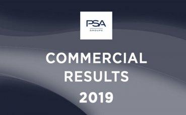 Световните продажби на PSA Group достигат 3,5 млн. броя през 2019 г.