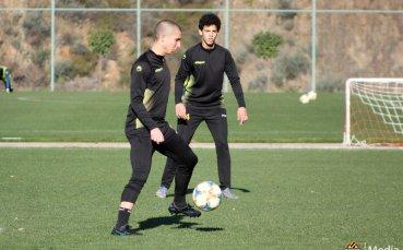 Ботев Пловдив с двустранна игра на лагера в Анталия