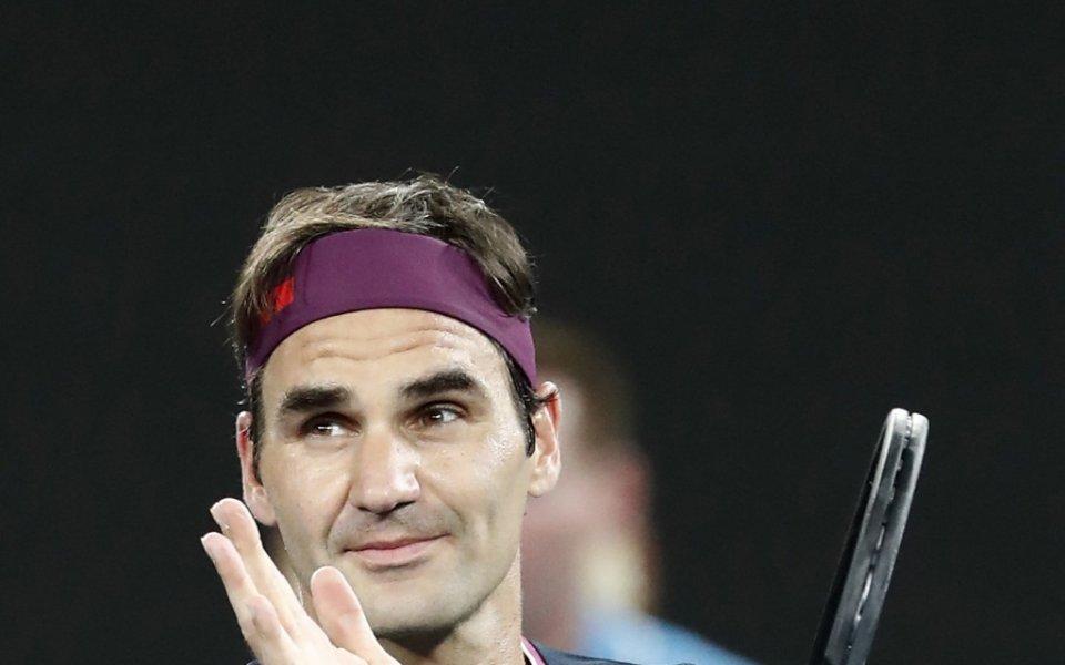 Шесткратният шампион Роджър Федерер (Швейцария) се класира за третия кръг