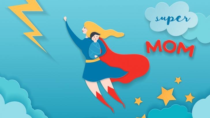 4 супер сили, които само младите майки имат