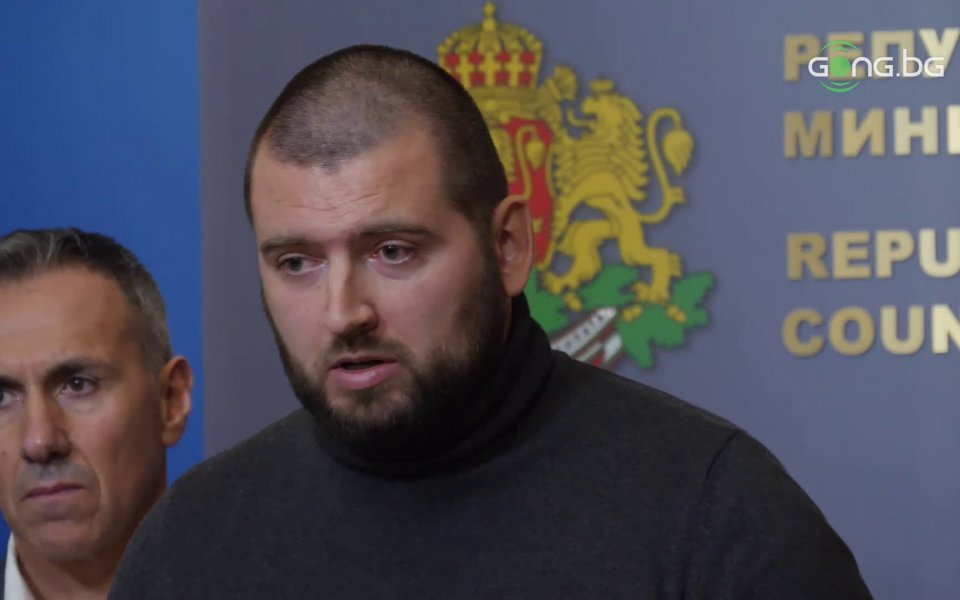 """Председателят на фенската организация """"Ултрас Левски"""" Адриан Петров говори пред"""