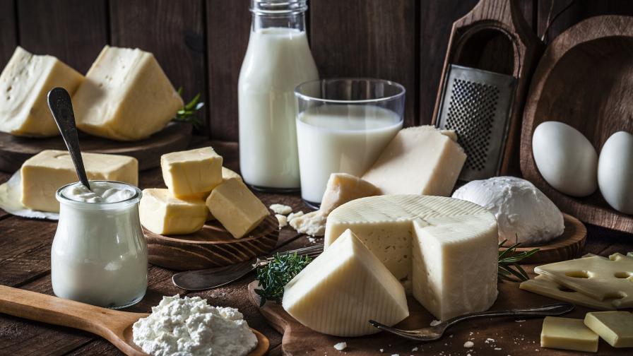 мляко млечни продукти сирене кашкавал извара