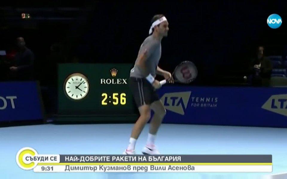 Един от най-добрите български тенисисти застана пред камерите на NOVA.