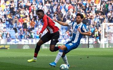 Расизъм в Испания: Фенове на Еспаньол поругаха нападател на Билбао